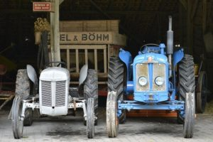 old-antique-tractor